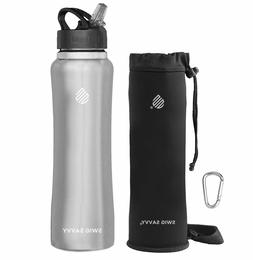 Swig Savvy's 32 oz Stainless Steel Insulated Water Bottle Sp