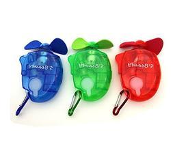 S'beauty Portable Carabiner Water Misting Fan Mini Outdoor S