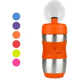 Kid Basix Safe Sporter™ 12oz Stainless Steel Water Bottle