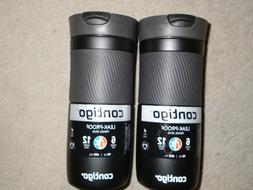 Set of 2 Contigo Byron Snapseal 16 oz Water Bottles Travel M