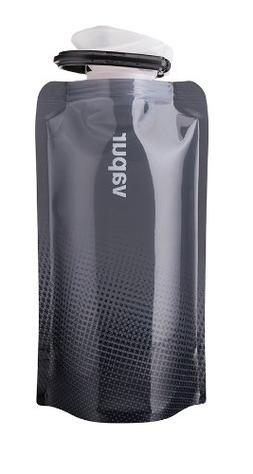 Vapur Shades Water Bottle, 0.5-Liter, Grey