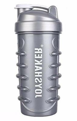 JOYSHAKER Shaker Bottle Sports Water W Ball & Bag For Protei