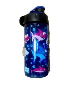 Cool Gear Sharks 16 Oz BPA Free Water Bottle New
