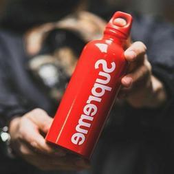 SUPREME SIGG Traveler 0.6L Red Water Bottle SS18 FW 19 20 bo