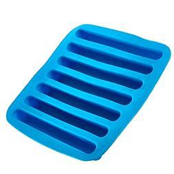 Silicone Ice Cube Sticks Tray - Blue Color Stick Size Ice Tu
