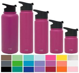 NEW Simple Modern Summit Wide Mouth Water Bottle With Extra