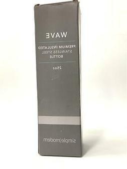 Simple Modern Wave Water Bottle - Carrara Marble 25 oz