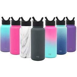 Simple Sports Water Bottles Modern 84oz Summit With Straw Li