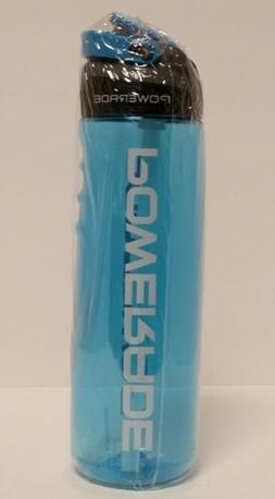 Powerade Sip Water Bottle Cyan 28oz Autospout Straw BPA Free