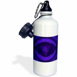 3dRose Sixth Chakra. -Sports Water Bottle, 21oz , 21 oz, Mul