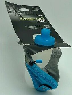 Nike Small Handheld Flask Water Bottle 10oz. Pocket With Zip