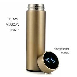 Smart Water Bottle with LCD Touch Screen 500ml 16oz Vacuum F