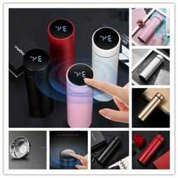 Smart Water Bottle with LCD Touch Screen 500ml Exquisite Vac