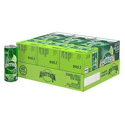 Perrier Sparkling Natural Mineral Water, Lime, 8.45 Ounce