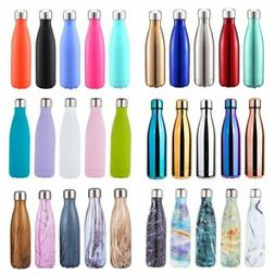 Sport Insulated Stainless Steel Water Bottle Double Wall The