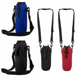 Outdoor Water Bottle Carrier Insulated Cup Bag Hiking Belt H