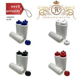 Sports Squeeze Bottles With High-Density Polyethylene Plasti