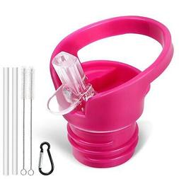 Sports Water Bottle Accessories Standard Size Straw Lid For
