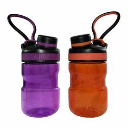 TAL Sports Water Bottle Set of 2 - BPA Free, Shatter Leak Pr