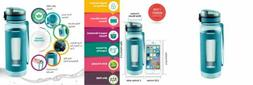 SWIG SAVVY Sports Water Bottle with Silicone Sleeve, Wide Mo