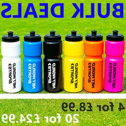 Sports Water Bottles  - BPA FREE PLASTIC BOTTLES - Sports Cy