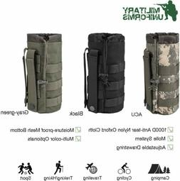 Sports Water Bottles Pouch Bag Tactical Molle Water Bottle P