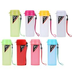 sports water with handle drinking bottle