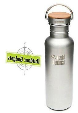Klean Kanteen 27 oz Reflect Brushed Stainless Steel Water Bo