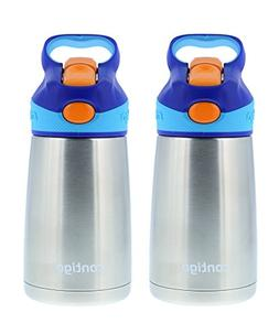 Contigo 10oz Stainless Steel Autospout Striker Kids Water Bo