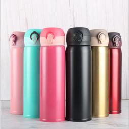 Stainless Steel Double Wall Thermal Cup Travel Mug <font><b>