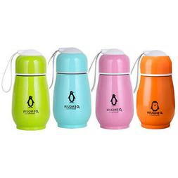 Stainless Steel Penguin Vacuum Studen F/1 Cup Water Bottle F