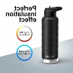 Stainless Steel Sport Water Bottle Double Wall Insulation Co