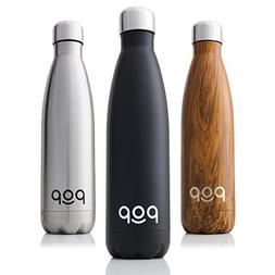 POP Stainless Steel Vacuum Insulated Water Bottle | Keeps Co