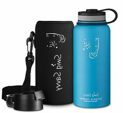 f19e7803c7 SWIG SAVVY Stainless Steel Vacuum Insulated Water Bottle - W