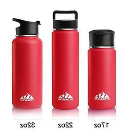 Hydrapeak Stainless Steel Water Bottle- 22oz Vacuum Insulate