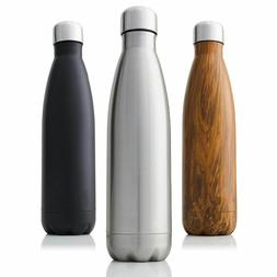 Stainless Steel Water Bottle Double-Wall Insulated Vacuum Fl