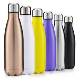 Stainless Steel Water Bottle Insulated Metal Sport & Gym Dri