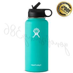 stainless steel water bottle mint green 32oz