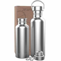 TRIPLE TREE Uninsulated Single Walled Stainless Steel Sports
