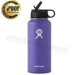 Hydro Flask Stainless Steel Water Bottle Purple 32oz Insulat