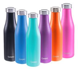 DRINCO Stainless Steel Water Bottle Vacuum Insulated 17oz 50