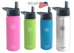 Smart Flask Stainless Steel Water Bottle Vacuum Insulated 18