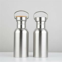 Stainless Steel Water Bottle Vacuum Thermos Insulated Metal