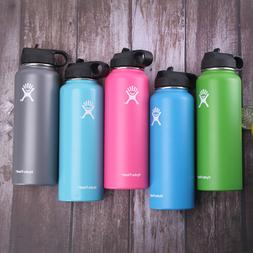 Hydro Flask Stainless Water Bottle Insulated Wide Mouth Cap