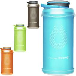 HydraPak Stash 1L Collapsible Lightweight Compact Water Bott