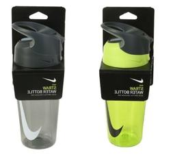 Nike Straw Water Bottle Sports Tumbler Transparency Cycling