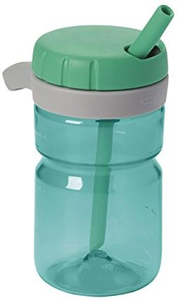 OXO Strive Propel Bottle with Covered Straw, Emerald Green