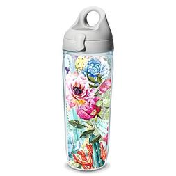 Tervis Succulents And Cactus Wrap Clear Inner Water Bottle w