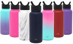 Simple Modern 22 oz Summit Water Bottle with Straw Lid - Vac