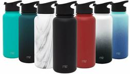 Simple Modern Summit Water Bottle + Extra Lid - WideMouth Va